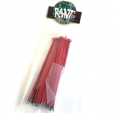 PACK DE RAYONS RANT RED