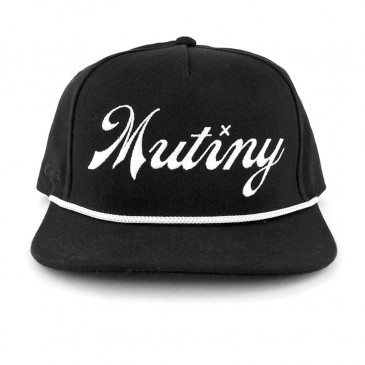 CASQUETTE MUTINY SECOND STRING BLACK