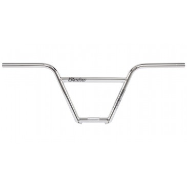 GUIDON BMX SHADOW CROWBAR 4 PIECES CHROME