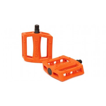 PEDALES BMX SHADOW RAVAGER PLASTIQUE ORANGE