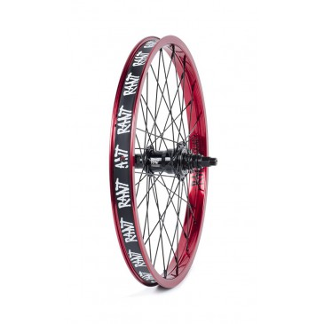 ROUE ARRIERE BMX RANT FREECOASTER MOONWALKER RED