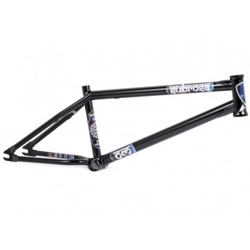 CADRE BMX SUBROSA OM  (COULOMB) MATTE BLACK