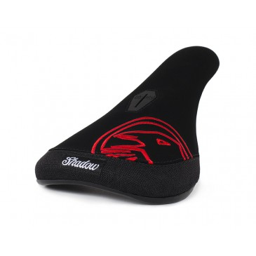 SELLE BMX PIVOTAL SHADOW CROW SLIM RED