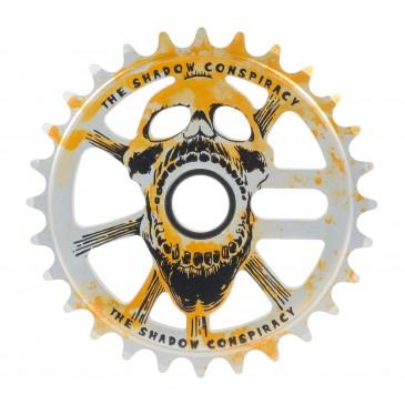 COURONNE BMX SHADOW SCREAM AGENT ORANGE 25T