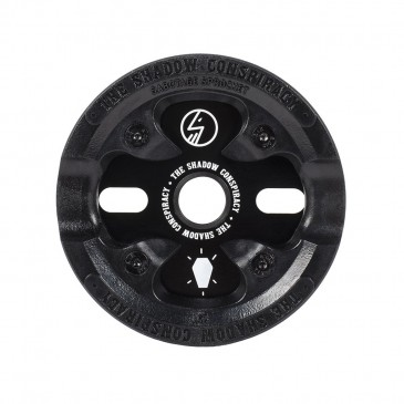 COURONNE BMX SHADOW SABOTAGE BLACK 25T