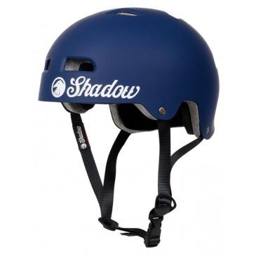 CASQUE SHADOW BMX CLASSIC MATT BLUE