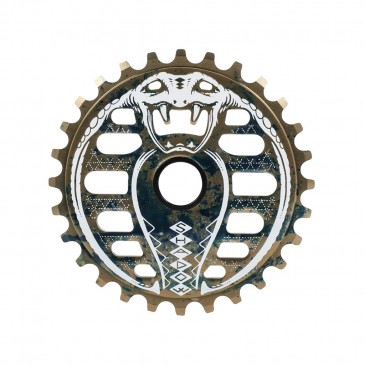 COURONNE BMX SHADOW KOBRA OIL SPILL 25T