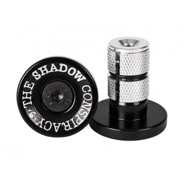 EMBOUTS GUIDON BMX SHADOW DEADBOLT ALU BLACK