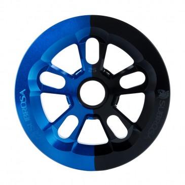 COURONNE BMX SUBROSA MAGNUM BASH BLUE/BLACK FADE