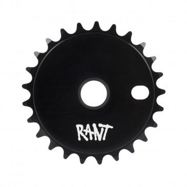 COURONNE BMX RANT STICK'EM BLACK 25T