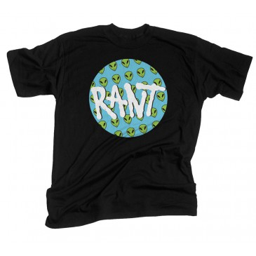 TSHIRT RANT BELIEVE BLACK
