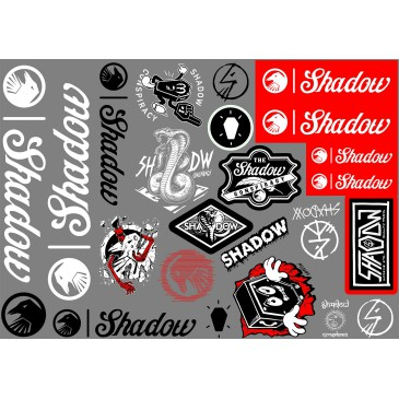 PACK STICKERS SHADOW CONSPIRACY 2017