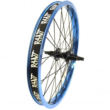 ROUE ARRIERE BMX RANT PARTY ON CASSETTE RED RHD