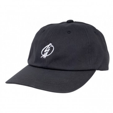 CASQUETTE SHADOW CROW TAG DAD HAT BLACK