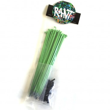 PACK DE RAYONS RANT NEON GREEN