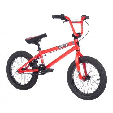 "BMX SUBROSA ALTUS 16"" SATIN FURY RED 2018"