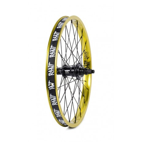 ROUE ARRIERE BMX RANT FREECOASTER MOONWALKER LEMON GREEN