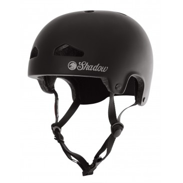 CASQUE SHADOW BMX FEATHERWEIGHT MATTE BLACK (IN MOLD)