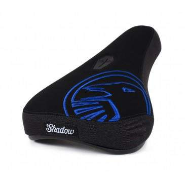 SELLE BMX PIVOTAL SHADOW CROW MID BLUE