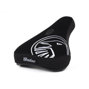 SELLE BMX PIVOTAL SHADOW CROW MID WHITE