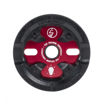COURONNE BMX SHADOW SABOTAGE CRIMSON RED 25T