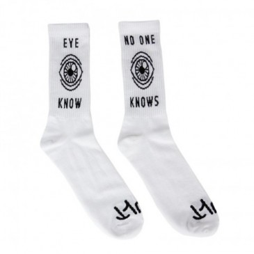CHAUSSETTES CULT EYE KNOW WHITE