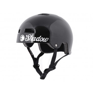CASQUE SHADOW BMX CLASSIC GLOSS BLACK