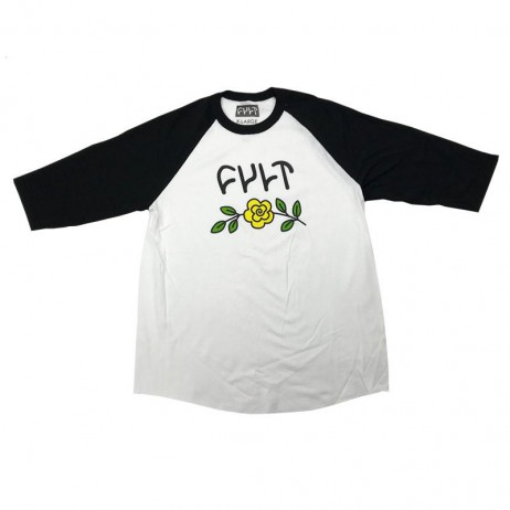 TEESHIRT CULT MANCHES 3/4 IN BLOOM