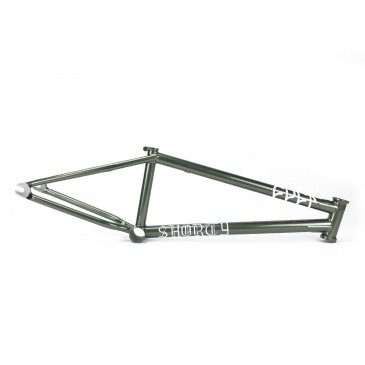 CADRE BMX CULT SHORTY GREEN METALLIC KILLIAN ROTH