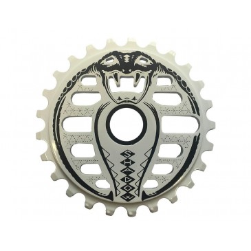 COURONNE BMX SHADOW KOBRA WHITE 25T
