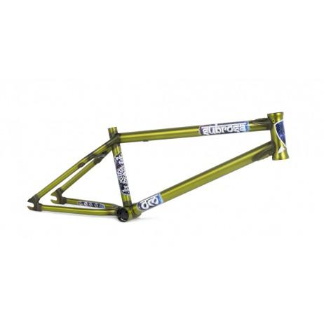 CADRE BMX SUBROSA OM  (COULOMB) SATIN TRANS GREEN