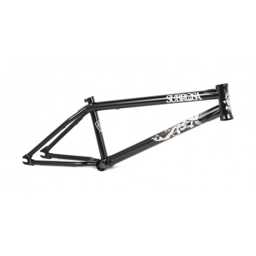 CADRE BMX SUBROSA WILD CHILD MATTE BLACK ( TREY JONES )