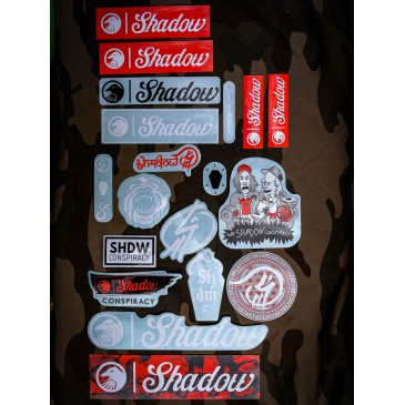 PACK STICKERS SHADOW CONSPIRACY 2018
