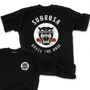 TSHIRT SUBROSA BATTLE CAT BLACK  (SP 2018)
