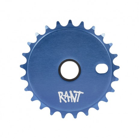 COURONNE BMX RANT STICK'EM BLUE 25T