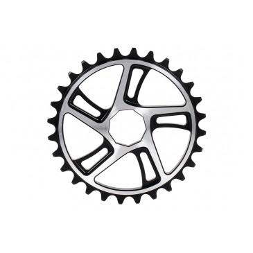 COURONNE BMX MUTINY PENTRA BLACK/CHROME SOCKET/SPLINE DRIVE BLACK