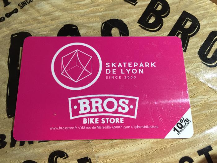 Skatepark Carte Lyon BMX BROS