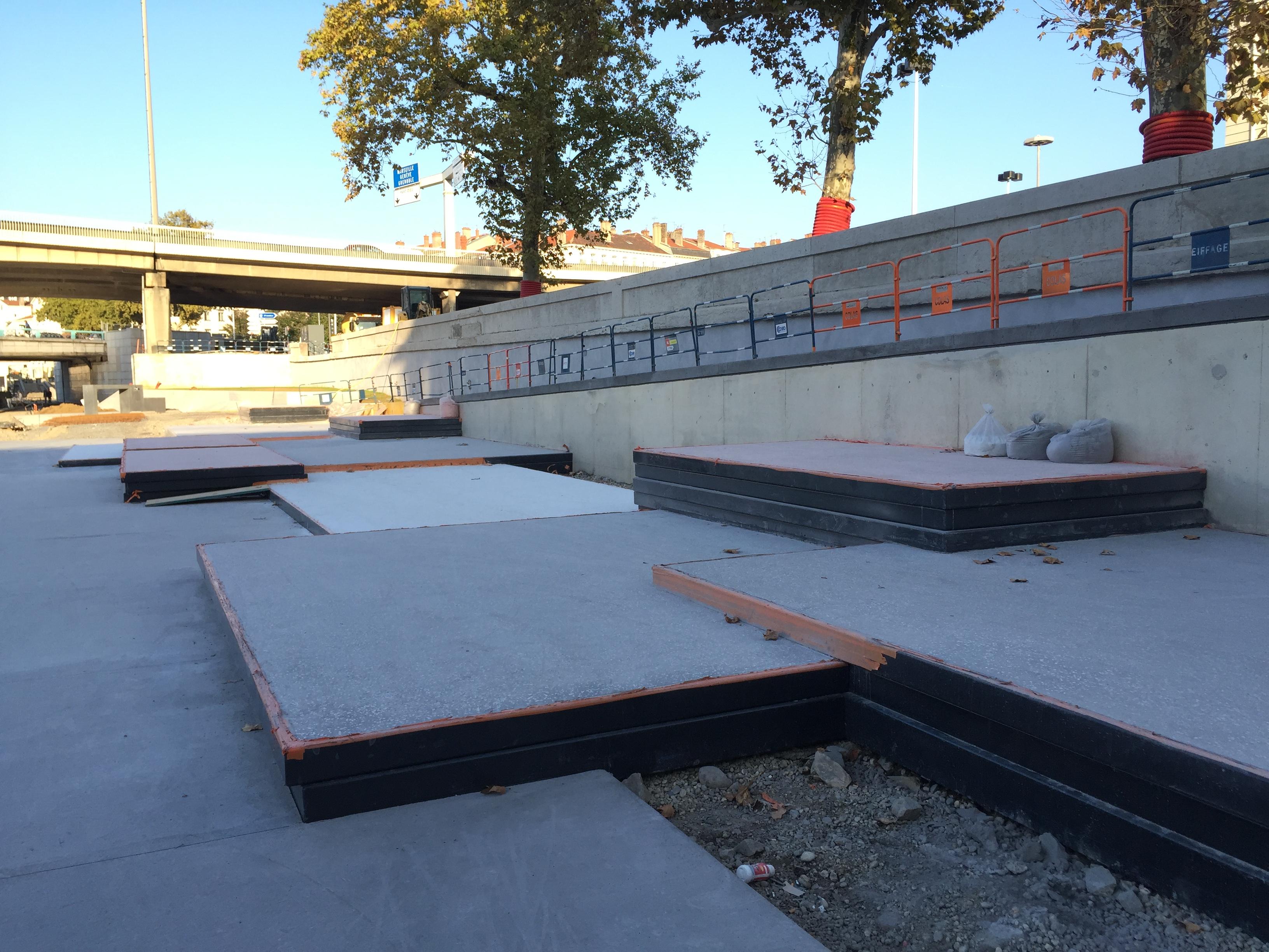 Skatepark Perrache Lyon