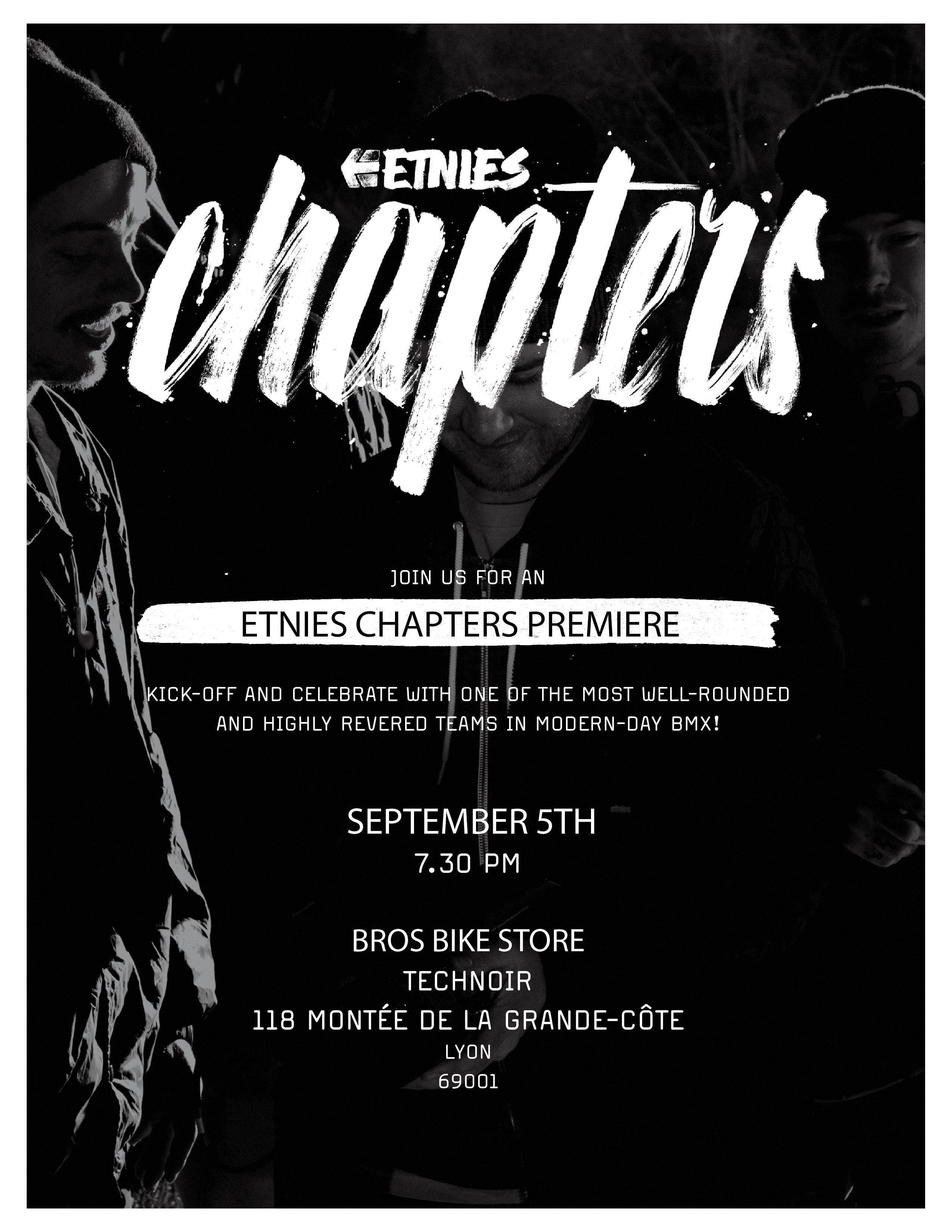 Etnies Chapters Lyon