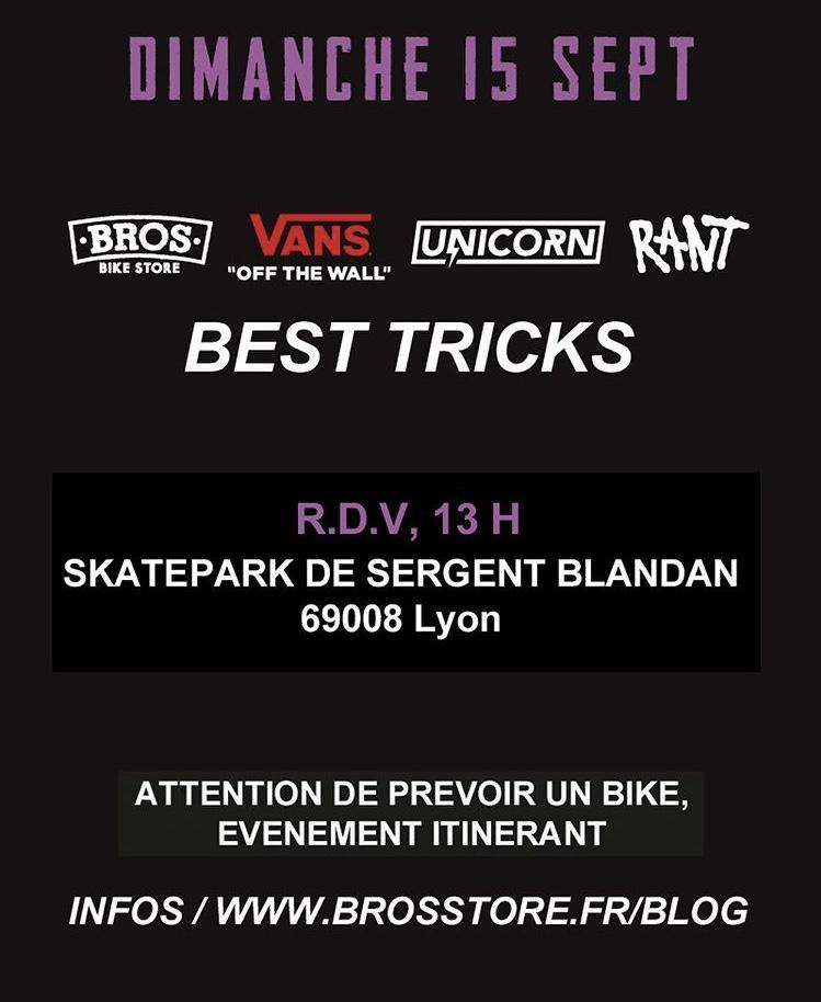 Programme Dimanche BMX STREET STATION 2019