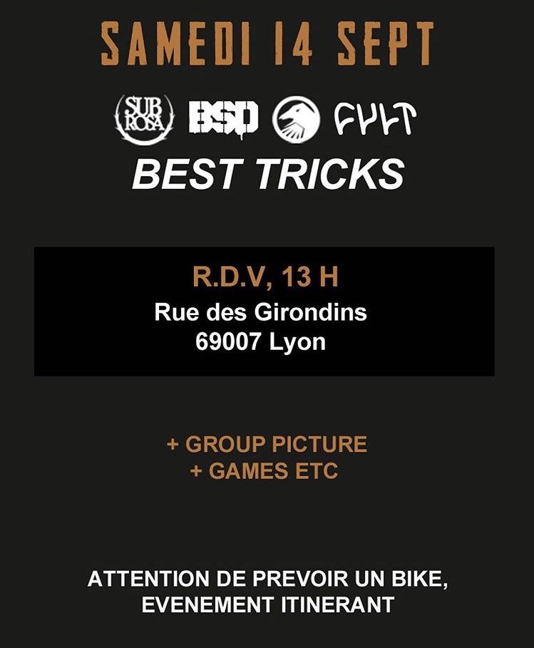 Programme Samedi BMX STREET STATION 2019